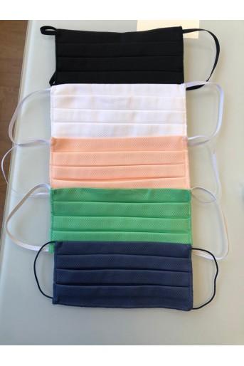 Masque de protection en tissu lavable à l'unité