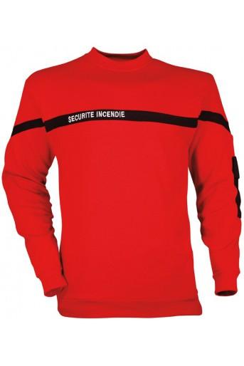 Sweat-Shirt sécurité incendie